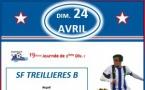 L'affiche du Week-end : Séniors B vs AS Bugallière