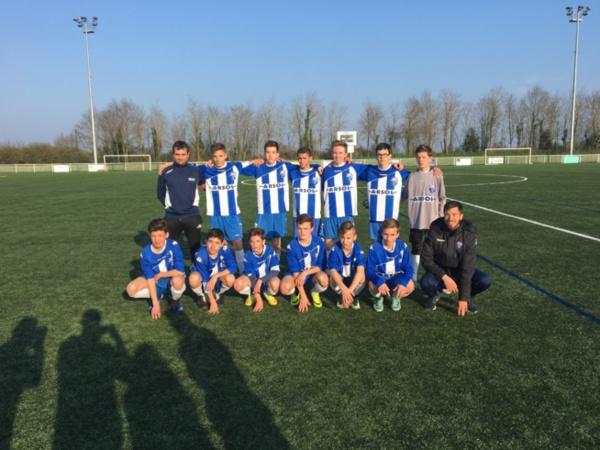 U15: Rebelote! 3 matchs, 3 victoires!!