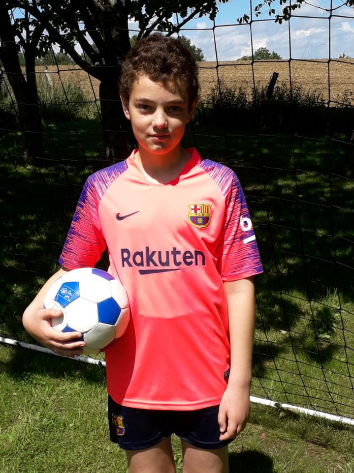 Evan MOREAU , futur arbitre à la Sympho ...