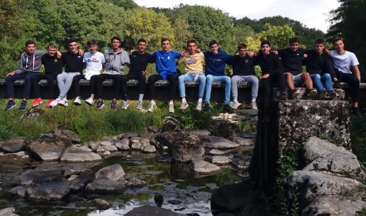 U18 : Week-end de stage dans les gorges de la Sèvre nantaise