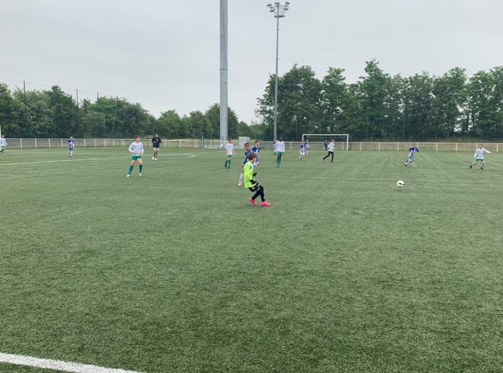Photos des matches amicaux Treillières vs Carquefou vs Orvault SF samedi 19 juin 2021!