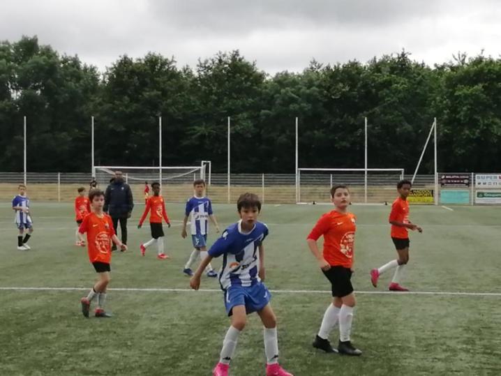 Photos des matches amicaux U12 Treillières vs Orvault RC et La Chapelle-sur-erdre samedi 26 juin 2021!