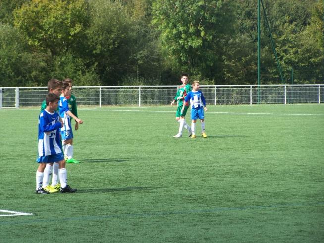 U12-U13 A le 26/09 (La St Médard)