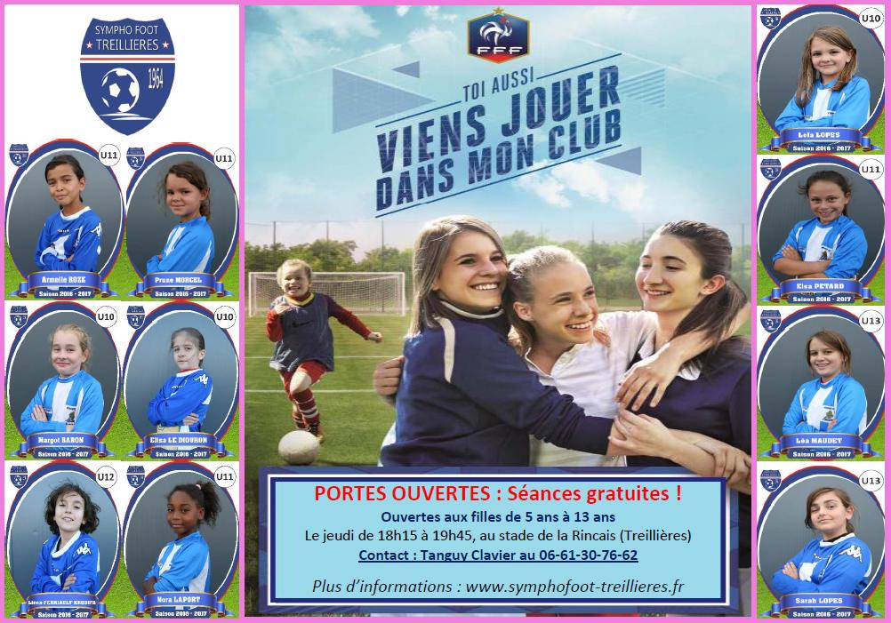 Viens essayer le football Féminin ! (5 à 13 ans)