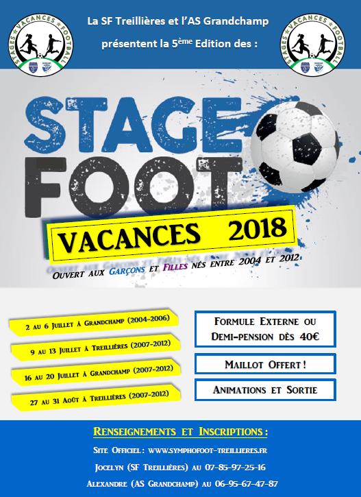 Stages Vacances Football : Ils reviennent cet été !!
