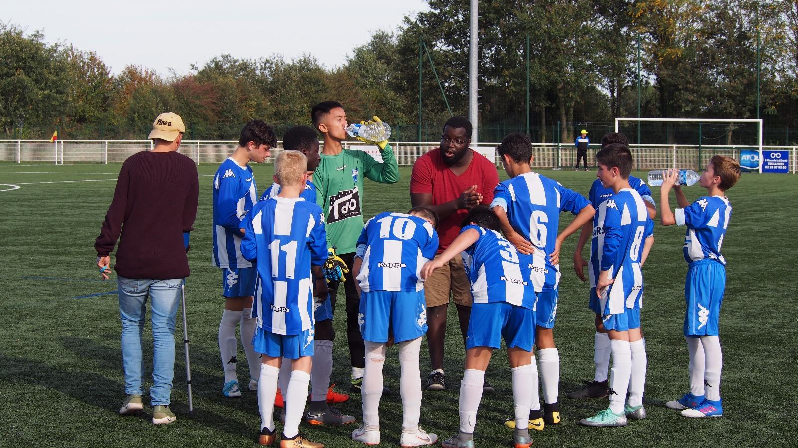 U15: Une première défaite amère au 1 er match de coupe
