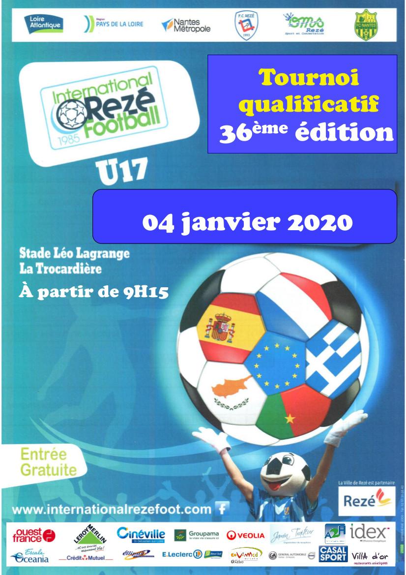 Nos U17 au tournoi qualificatif de l'International Rezé Football