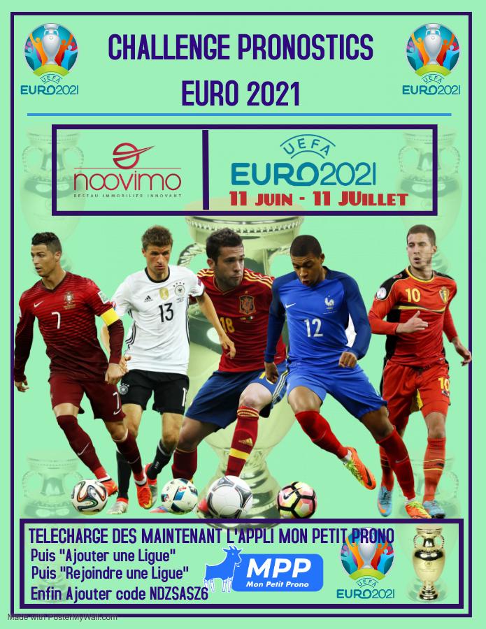 CHALLENGE PRONOSTICS EURO 2021 !!