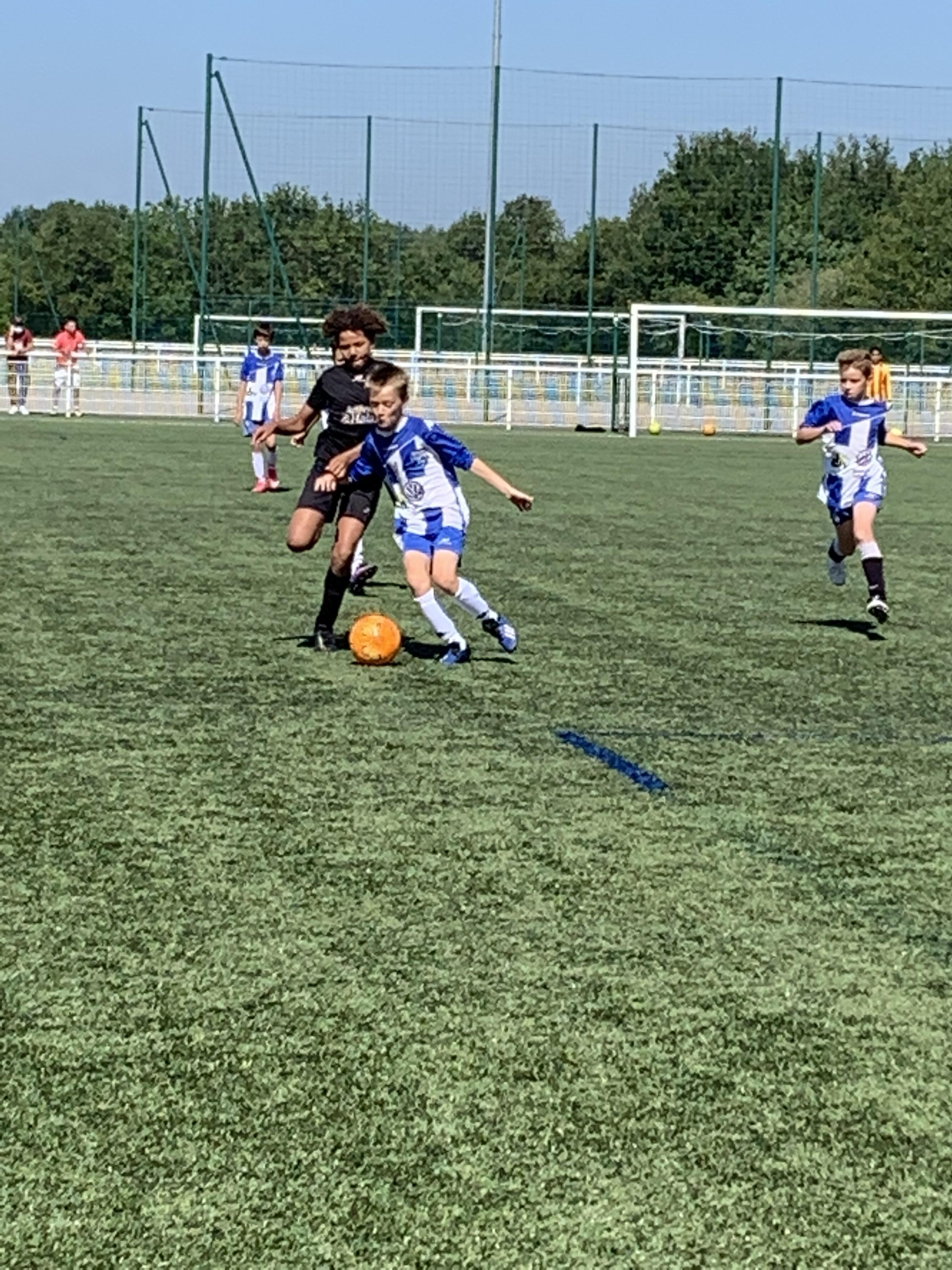 Photos du match U12 Treillières VS Sporting Club de Nantes samedi 12 juin 2021 !