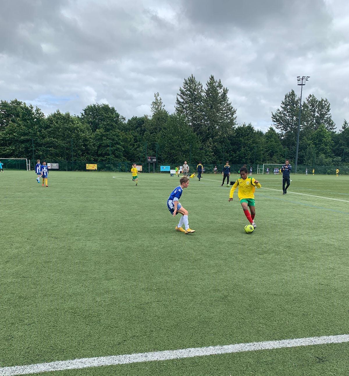 Photos matches des U12 SFT vs U12 SHOC samedi 3 juillet 2021!