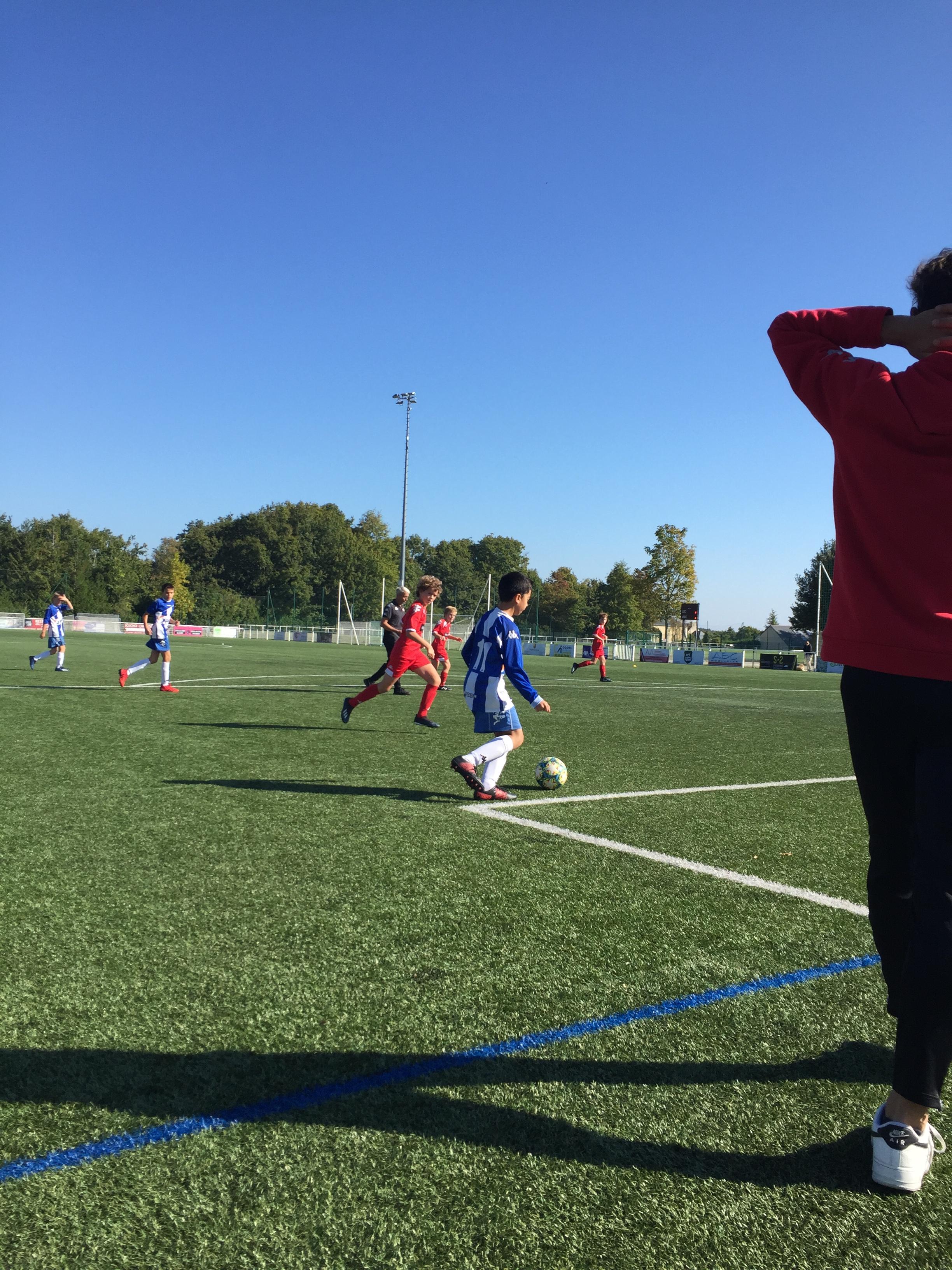 Résumés et photos matchs U13 samedi 9 octobre 2021!