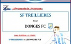 10ème Journée de 1ère Division : SF Treillières - Donges FC