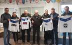 130 Nouveaux maillots pour l'école de football : Merci à nos partenaires !