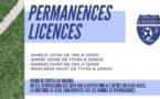 Permanence des licences 2020-2021