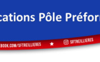 Convocations Pôle Préformation (U12 à U15)