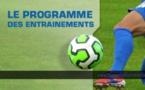 Ecole de Football : Reprise des entraînements