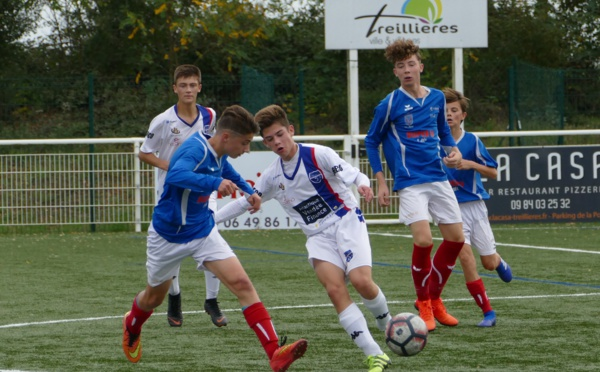 U17 Région: J6--Symphofoot Treillières - Ernée Football