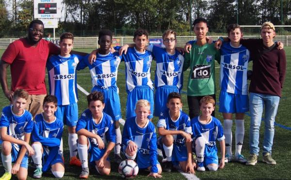 U14-U15: Un début de saison plutôt satisfaisant!