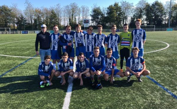 U18: Une entrée réussie en coupe!
