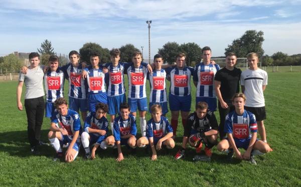 U18: 2 ème journée de Coupe U18:  Nort sur Erdre Ac - SF Treillières