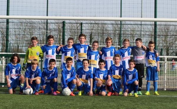 U13 (Coupes) - Qualification des deux équipes U13 ! - 14/03/15
